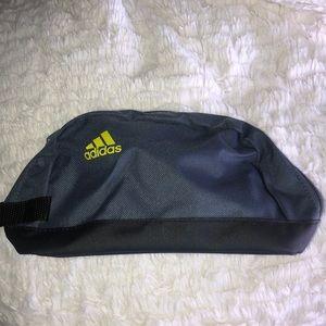 Adidas Travel Toiletry Bag Makeup Case Grey New